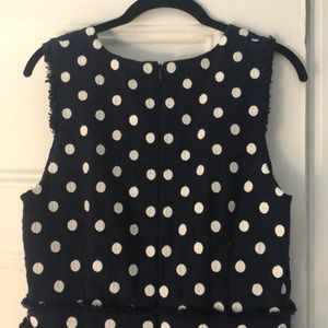J. Crew Dresses - NWT J Crew Tweed Polka Dot Dress